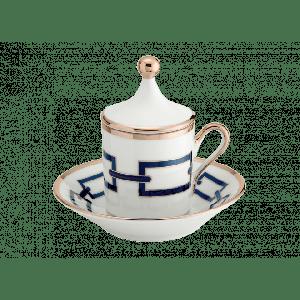 Tazza caffè Catene Zaffiro